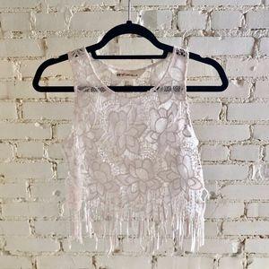 H&M Coachella Lace Crop Top